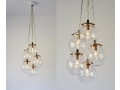 Hanging Clear Glass Pendants