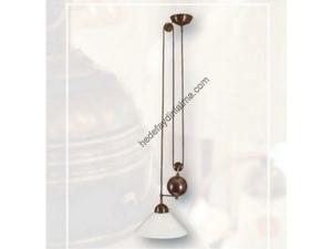 Bronz Asansörlü Klasik Sarkıt