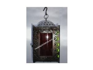 Sguare Glass Lantern