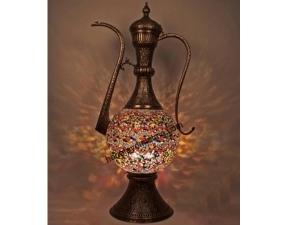Renkli Mozaik Lambader
