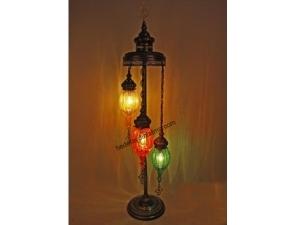 Üçlü Renkli Osmanlı Lambader