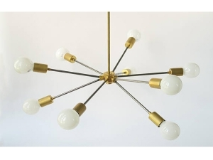 Steel Sputnik Light Pendant